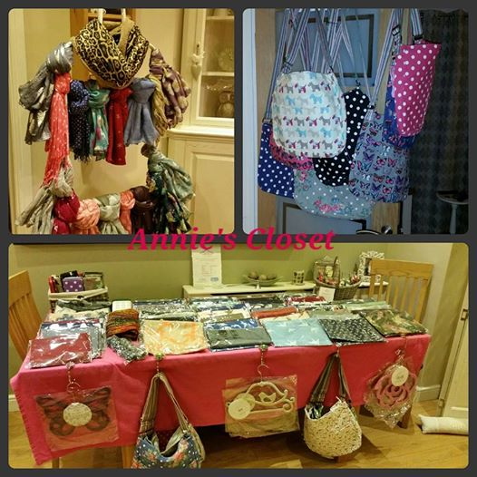 Annie's Closet scarves and bags