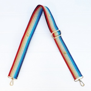 Bag Strap - Rainbow Star