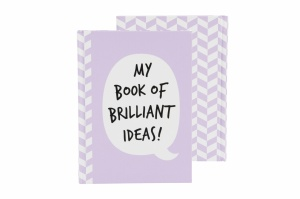 Notebook - My Book of Brilliant Ideas