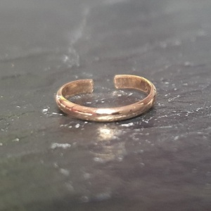 Single Band Ear Cuff - Rose Gold Plated