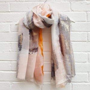 Glam It Up - Gold Scarf