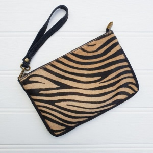 Leather Animal Bag - Tiger