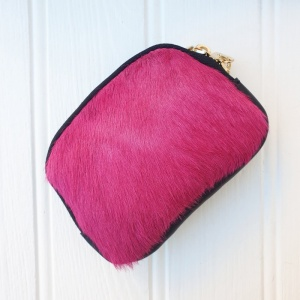 Leather Purse - Pink
