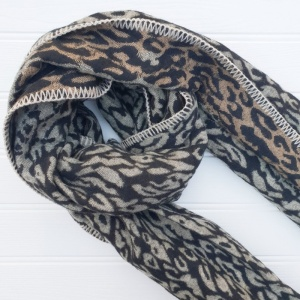 Leopard Wrap - Brown