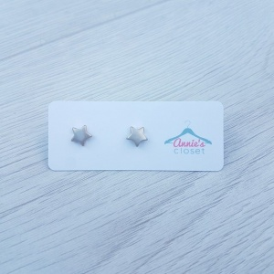 Matte Star Earrings