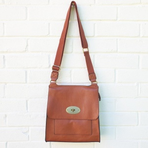 Messenger Bag - Tan