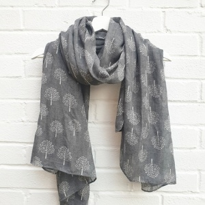 Mulberry Trees - Grey Scarf