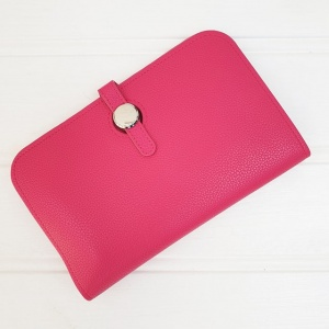Duo Purse - Hot Pink (with photo slot)