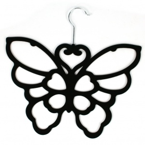 Butterfly Scarf Holder - Black