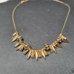 Spike Necklace - Gold