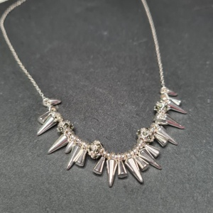 Spike Necklace - Silver