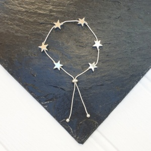 Star Friendship Bracelet - Silver