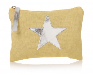 Star Pouch - Corn Yellow
