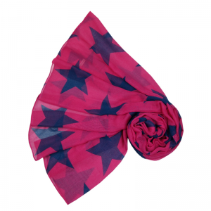 Super Star - Hot Pink Scarf