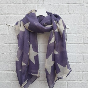 Super Star - Purple Scarf