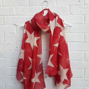 Super Star - Red Scarf