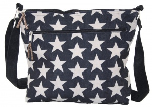 Superstar Messenger Bag - Grey Blue