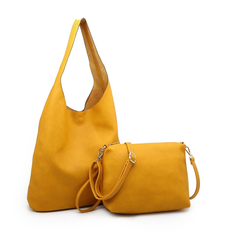 2 in 1 Bag Set - Mustard