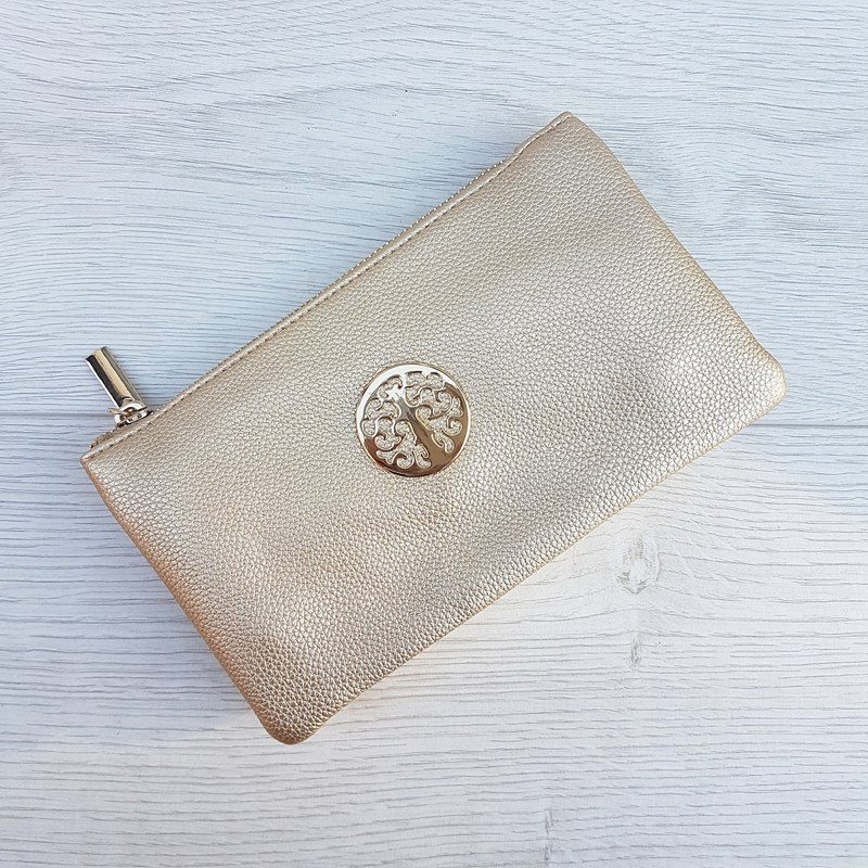 Clutch Bag - Gold