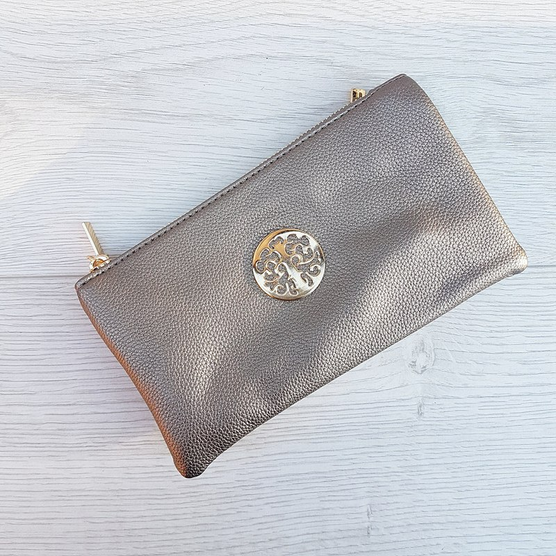 Clutch Bag - Pewter
