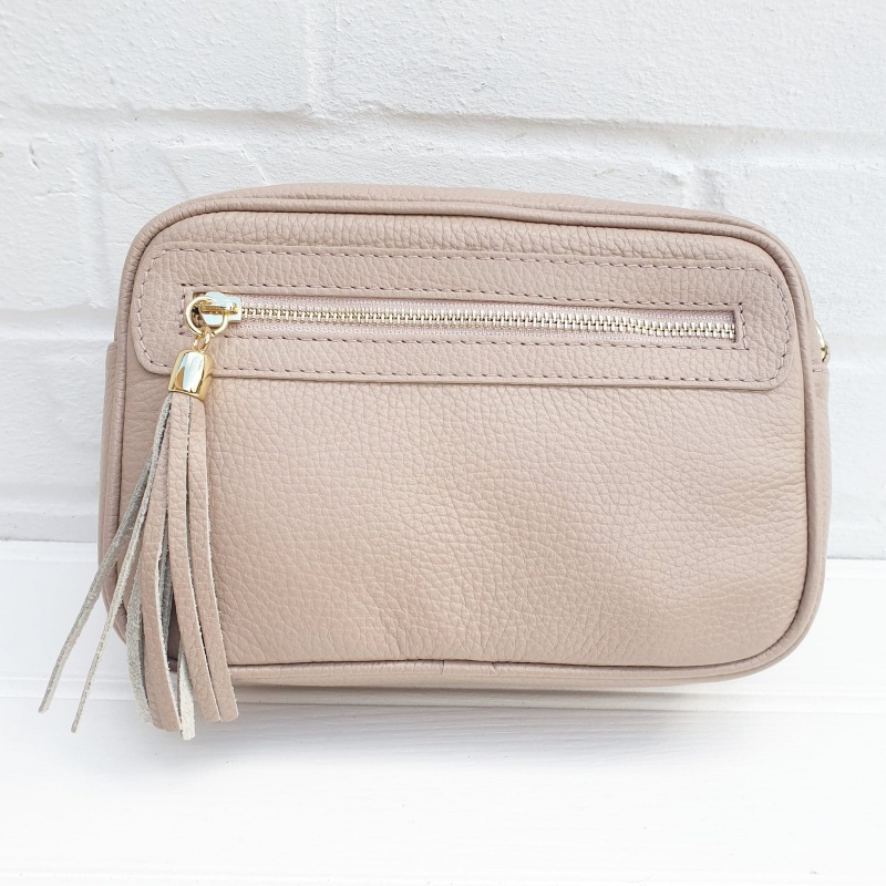 Leather Bag - Blush