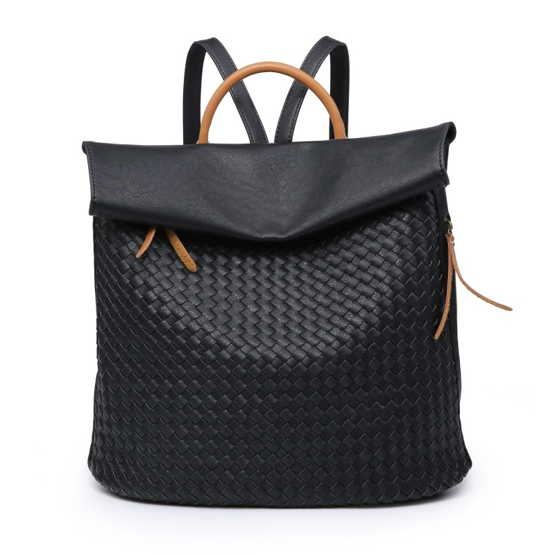 Weave Backpack - Black
