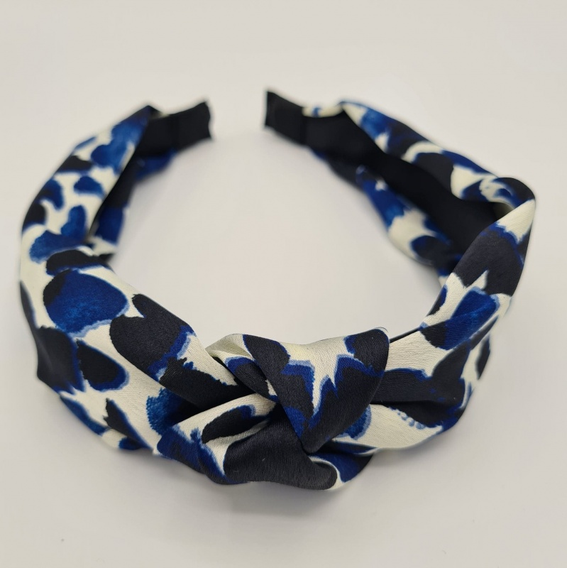 Hairband - Abstract Blue