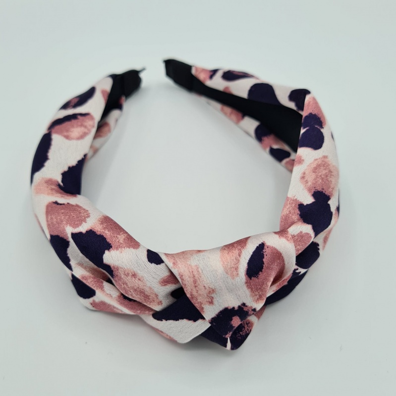 Hairband - Abstract Pink