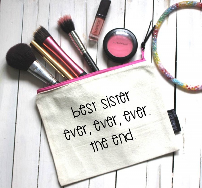 'Best Sister Ever' Pouch