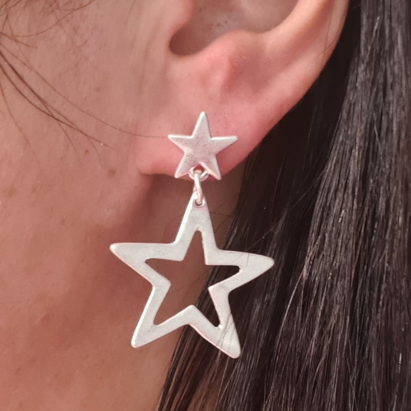 Superstar Earrings - Silver
