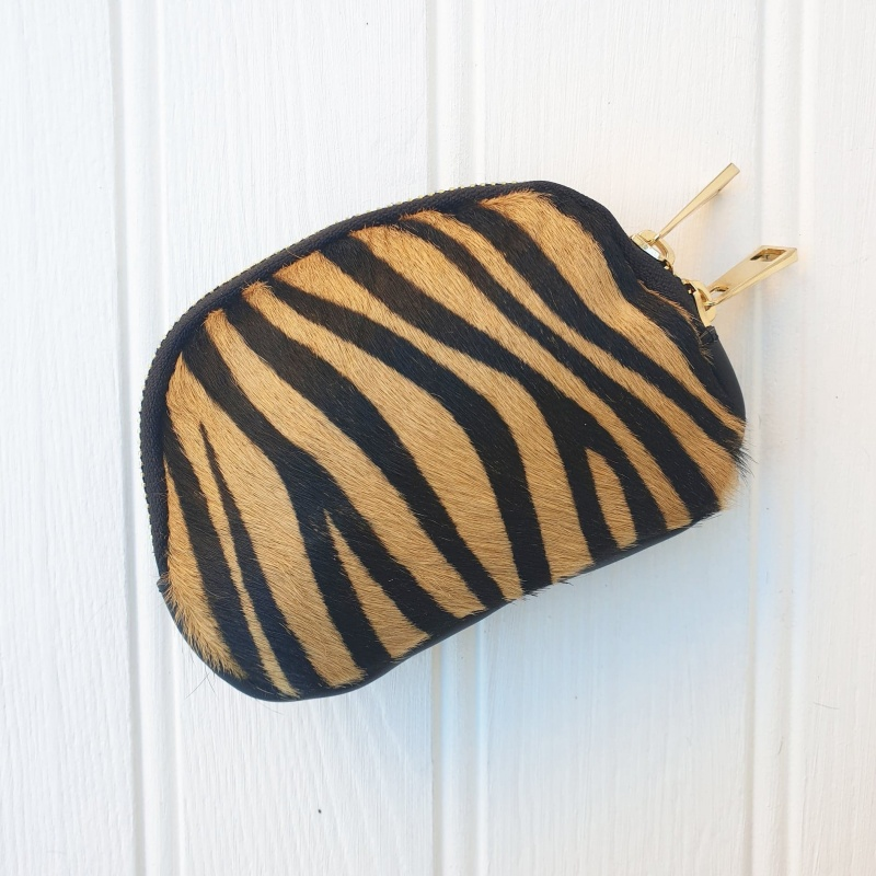 Leather Purse - Tiger