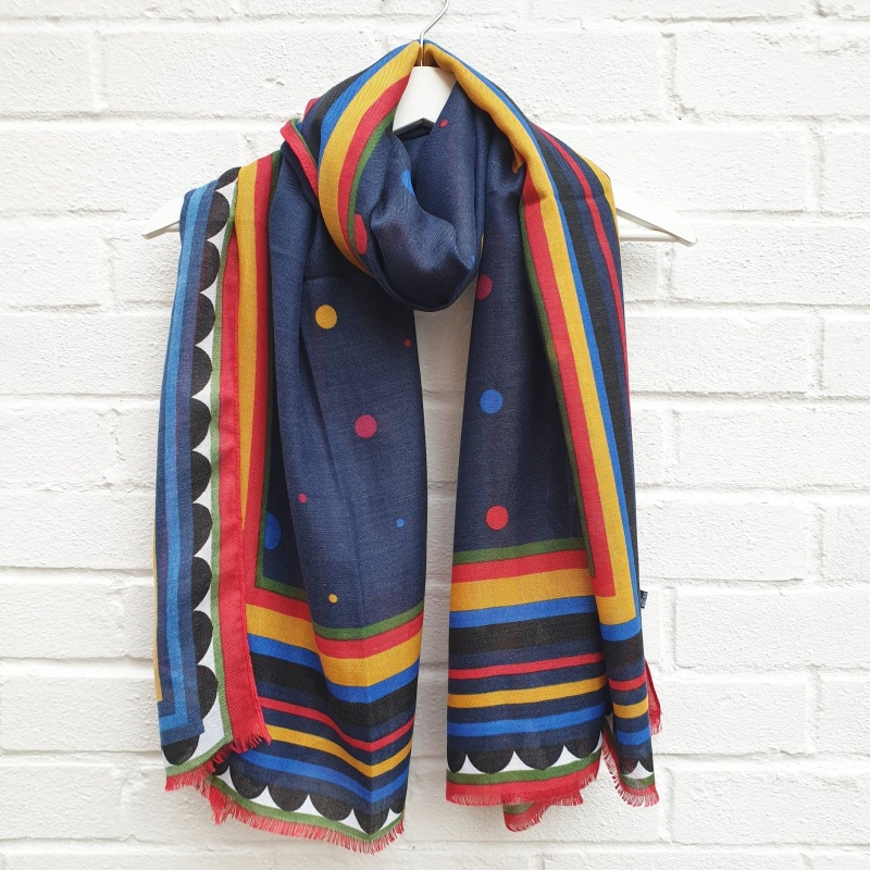 Colour Pop - Navy Scarf