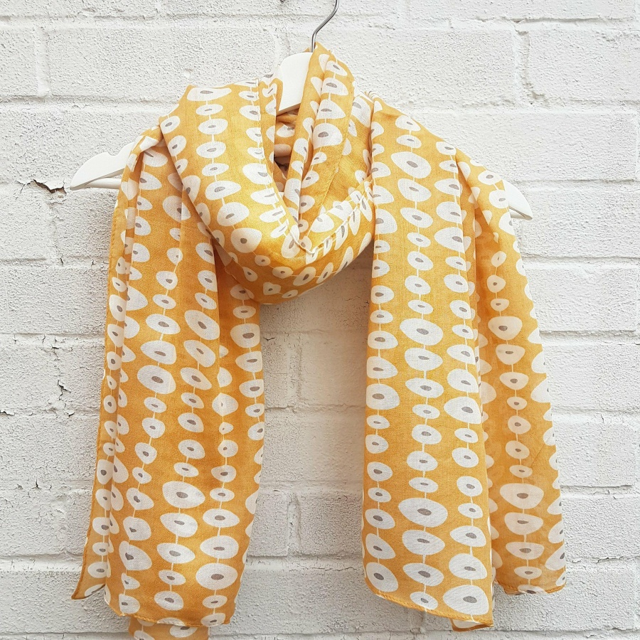 Stepping Stones - Sunshine Scarf