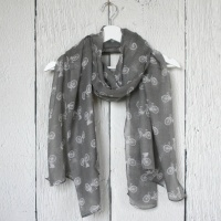 Bicycles - Grey Scarf