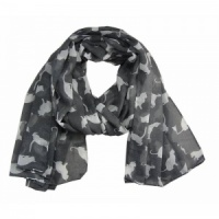 Cats - Grey Scarf