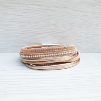 Chic Wrap Bracelet - Golden