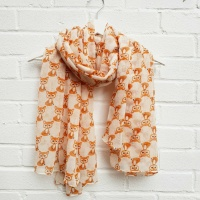 Foxes - Ivory Scarf