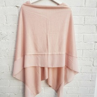 Lightweight Poncho - Peachy