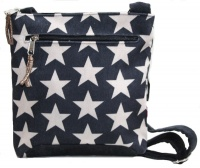 Superstar Mini Messenger Bag - Grey Blue