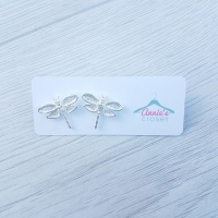 Pretty Dragonfly Earrings