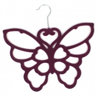 Butterfly Scarf Holder - Purple