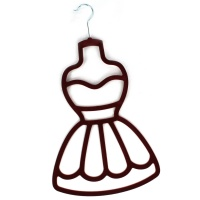 Dress Scarf Holder - Red