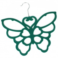 Butterfly Scarf Holder - Teal