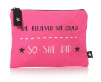 'She believed' Pouch